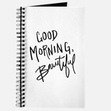 "Hand lettered ""Good Morning, Beautiful"" Journal"