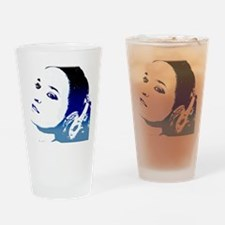 melodies girl Drinking Glass