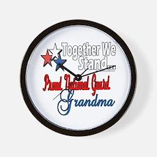 National Guard Grandma Wall Clock