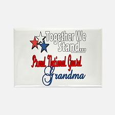 National Guard Grandma Rectangle Magnet