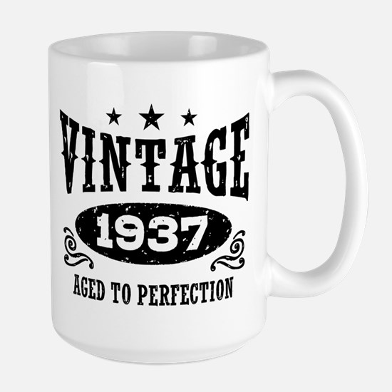 Vintage 1937 Large Mug
