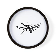 Bomber Aircraft Wall Clock