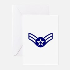 USAF E-3 AIRMAN FIRST CLASS Greeting Cards
