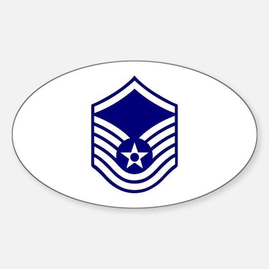 USAF E-7 MASTER SERGEANT Decal