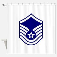 USAF E-7 MASTER SERGEANT Shower Curtain
