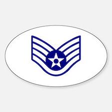 USAF E-5 STAFF SERGEANT Decal