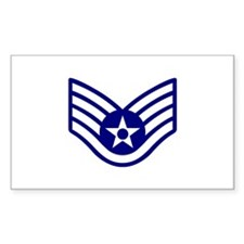 USAF E-5 STAFF SERGEANT Decal