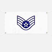 USAF E-5 STAFF SERGEANT Banner