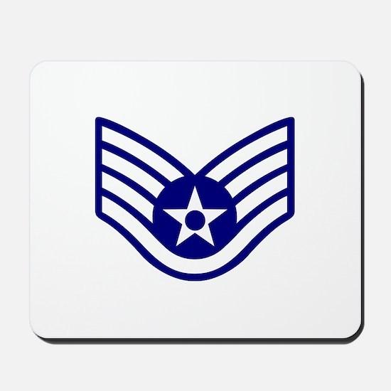 USAF E-5 STAFF SERGEANT Mousepad