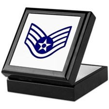 USAF E-5 STAFF SERGEANT Keepsake Box