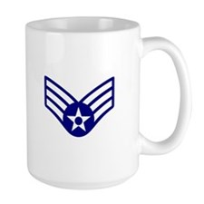 USAF E-4 SENIOR AIRMAN Mugs