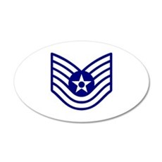 USAF E-6 TECH SERGEANT Wall Decal