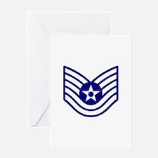 USAF E-6 TECH SERGEANT Greeting Cards
