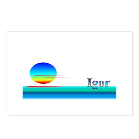 Igor Postcards (Package of 8)