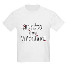 Grandpa is my Valentine! T-Shirt