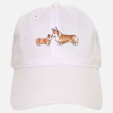CORGI ADULT AND PUP Baseball Baseball Baseball Cap