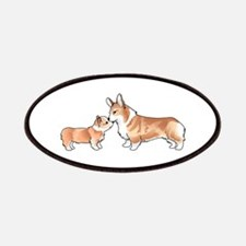 CORGI ADULT AND PUP Patches