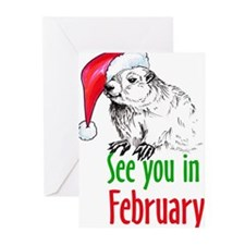 Cute Ground hog Greeting Cards (Pk of 20)