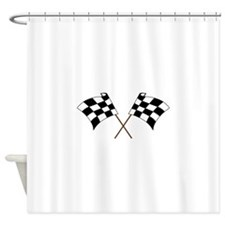RACING FLAGS Shower Curtain