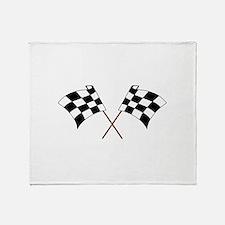 RACING FLAGS Throw Blanket