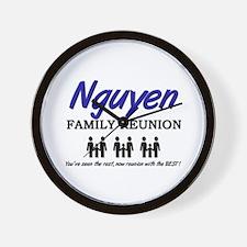 Nguyen Family Reunion Wall Clock