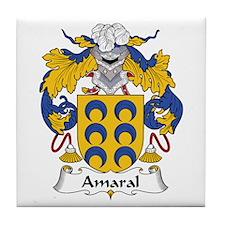 Amaral Tile Coaster
