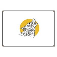 WOLF AGAINST MOON Banner