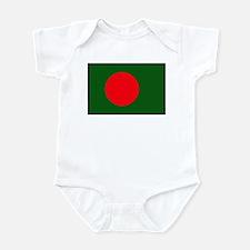 """Bangladesh Flag"" Infant Bodysuit"