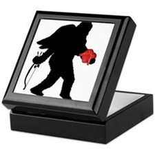 Valentine Sasquatch Keepsake Box