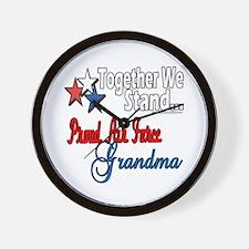 Air Force Grandma Wall Clock