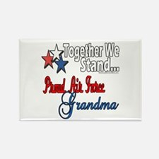 Air Force Grandma Rectangle Magnet