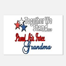 Air Force Grandma Postcards (Package of 8)