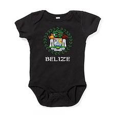 Cute Belize Baby Bodysuit