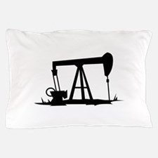 OIL WELL SILHOUETTE Pillow Case
