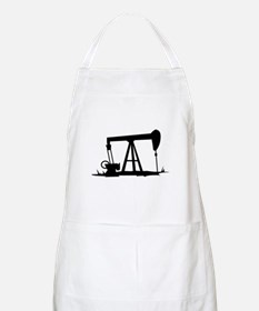 OIL WELL SILHOUETTE Apron