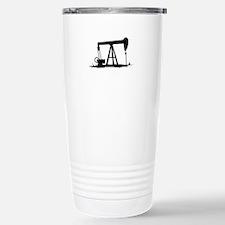 OIL WELL SILHOUETTE Travel Mug