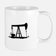 OIL WELL SILHOUETTE Mugs