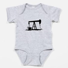 OIL WELL SILHOUETTE Baby Bodysuit