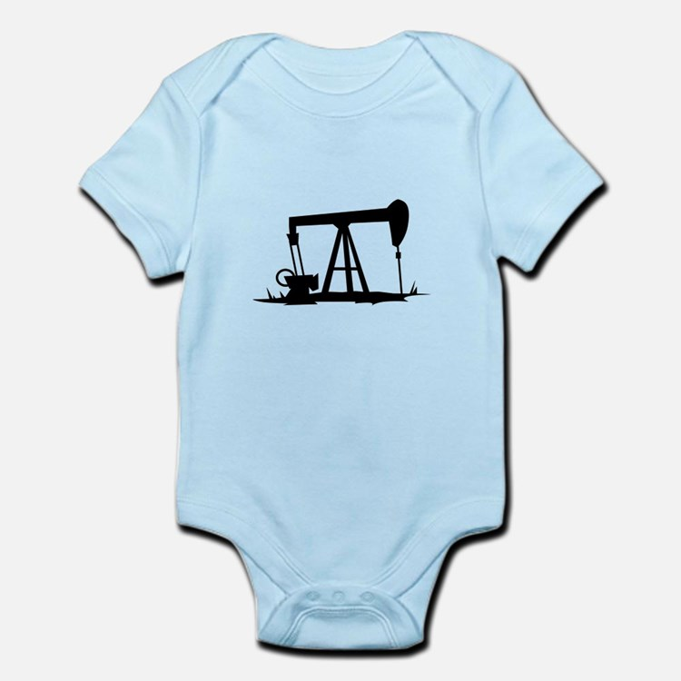 OIL WELL SILHOUETTE Body Suit
