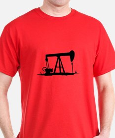 OIL WELL SILHOUETTE T-Shirt