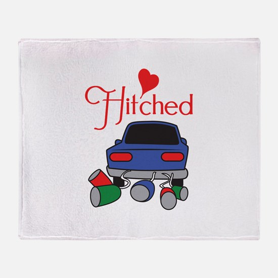 HITCHED Throw Blanket