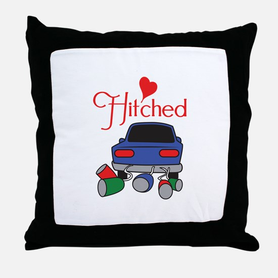 HITCHED Throw Pillow