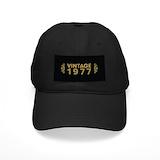 Vintage 1977 Black Hat