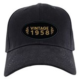 Birthday 1958 Black Hat