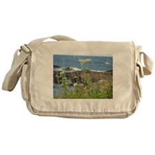 Delicate Love By The Sea Messenger Bag
