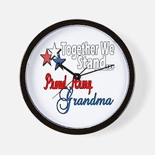 Army Grandma Wall Clock