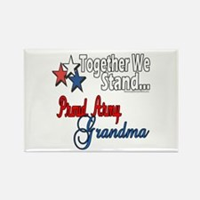 Army Grandma Rectangle Magnet