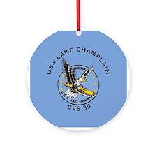 CVS-39 Lake Champlain Ornament (Round)