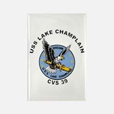 CVS-39 Lake Champlain Rectangle Magnet