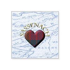 sassenach heart Sticker
